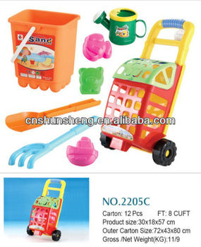 Water Summer Toy Beach Cart Tires ,Sand Beach Cart Toy For Kids