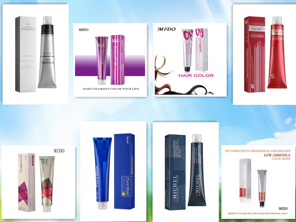 Aestheticism Brand Professional Salon Use Hair Color With