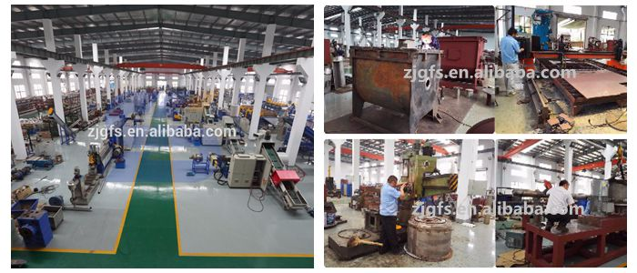 300-500kg/h pe pp film granulating / pelletizing machine / pe granulator