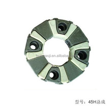 45H Hydraulic Pump Parts 4 Bolt Rubber Coupling