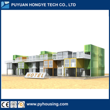 Luxury Movable Modular Prefab Container Villa Hotel with High Quality