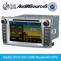 car radio for Toyota verso with GPS navigation SD USB BT steering wheel control AUX MP3 MP4 cd player