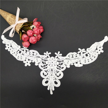 100% polyester sewing neck trim lace sewing neck trim lace