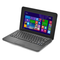 Cheap Notebook Computer 10 inch Netbook Win10 Notebook 1G/16G Quad Core Laptop WIFI English Russian Spainish German keyboard