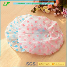 China wholesale cheap pvc shower cap for women