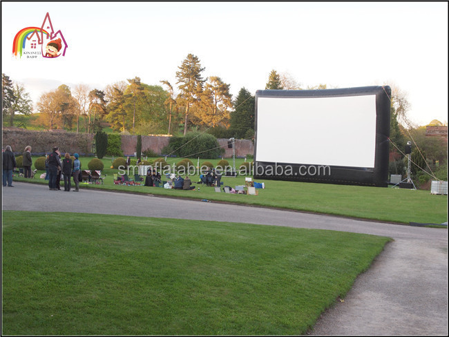 Deluxe Outdoor Inflatable Movie Screen, Party Widescreen NEW, Inflatable Cinema Screen