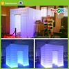 LED bright light cube tent Inflatable wedding foldable photo booth tent PVC/PU coating