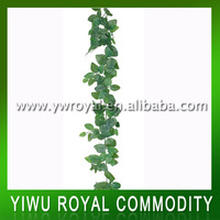 Wholesale Green Spring Artificial Banana Leaf