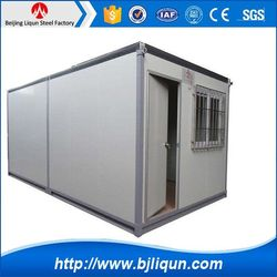 beijing the latest container office design 40ft container home mobile villa house