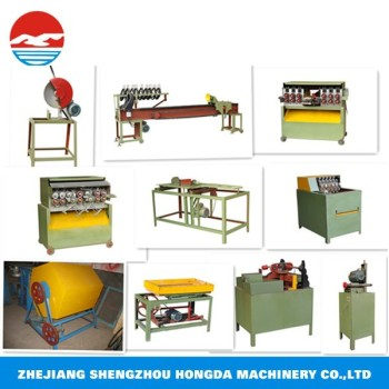 toothpick making and sorting machine