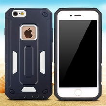 Double defender blu phone case for iphone 6s armor case