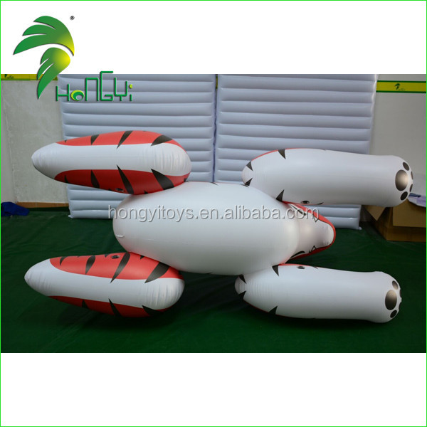 Hot Sale Custom Giant Inflatable Tiger, Ride on Inflatable Animal Sex Toys For Decoration