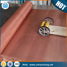 Faraday cage mesh shielding red copper screen wire mesh