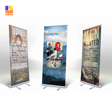 2017 Aluminum roll up banner,Retractable banner stand