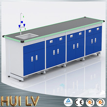 Steel chemistry laboratory furniture bench top