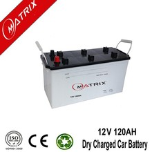 n120 12v 120ah jis standard dry charge lead acid automotive best car battery price
