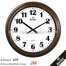 24 inches big round wall clock with big numbers