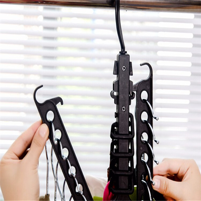 Space Saver Clothes Hanger Folding Magic Hangers for Clothes Indoor Closet Hanger