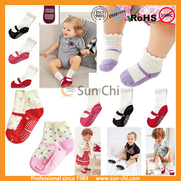 New 2017 lovely cute baby shoes socks