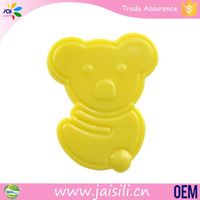 Custom shape funny plastic pacifier soother dummy clip/holder