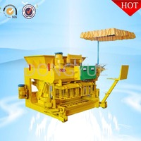 QT6-25 high capacity egg laying concrete masonry unit