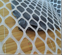 HDPE Extruded White Plastic Plain Netting