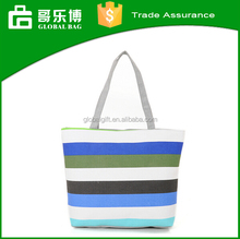 2016 Fashionable Stripe Han Edition Female Leisure CanvaS Bag