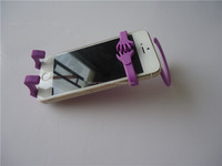 2015 bendable silicon handphone holder