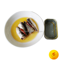 125g Chinese Canned Sardine In spicy vegetable Oil in club can