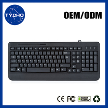 Laptop Gaming Keyboard Wholesale Standard USB 2.0 Wired Keyboard Computer Wired Keyboard