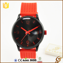 rubber bracelet cheap fashion wrist watch kids slap watch
