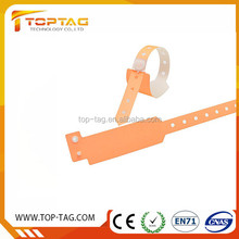 Rfid Hospital Paper Wristband,rfid soft pvc wristband/bracelet for events and venues