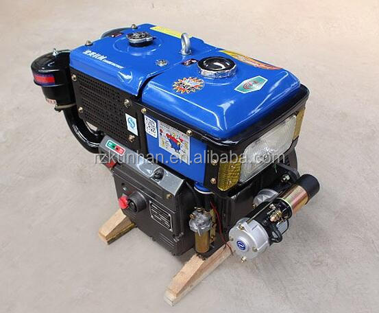 China good quality Single Cylinder Four stroke 30hp marine diesel engine