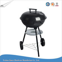 Outdoor Trolley Charcoal BBQ Outdoor Barbeque Grill with Ash Plate