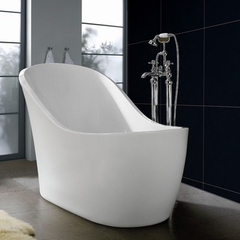2017 hot sell cheap freestanding bathtub with faucet