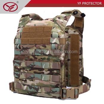 Tactical Vest with nylon thread with magazine pouches