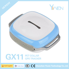 Yiwen Lifetime Software Web Phone APP Access Mini 3G 4G Micro Cheap Microchip Type Pet Dog Animal Cow Satellite GPS Tracker GX11