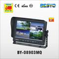"HD 9""CCTV monitor,safty rear view monitor rearview camera system BY-08903MQ"