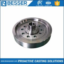 X12CrNi188 stainless steel Q235 cast iron 6350 cast iron silica sol lost wax casting hub motor 1kw