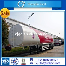New design customized for export 50000 liters oil transportation tank semi trailer,fuel tanker semi trailer,fuel tank trailer