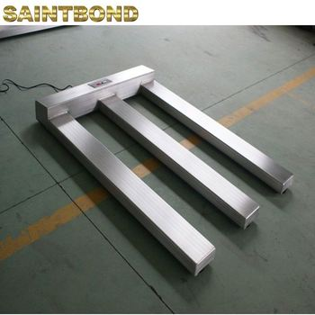 Great durability Alloy Steel Weigh U-Shape weighing Shape Truck U movable mobile pallet jack scale