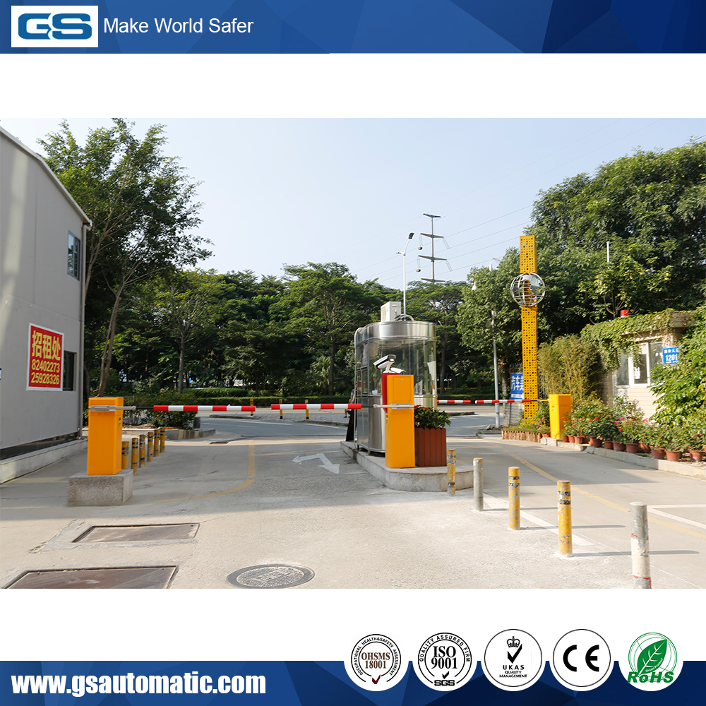 Automatic RFID TCP-IP Parking Management System