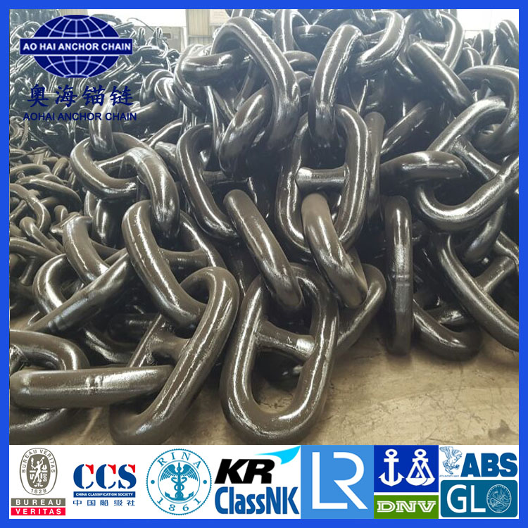 Stud link anchor chain galvanized anchor chain with certificates