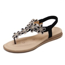 flat sandals for ladies pictures, Alibaba women shoes wholesale women flat shoes 2018 ladies flat sandals