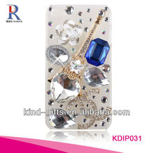 Bling Rhinestone Design Bedazzled Phone Cases For Iphone5C 5S China Supplier