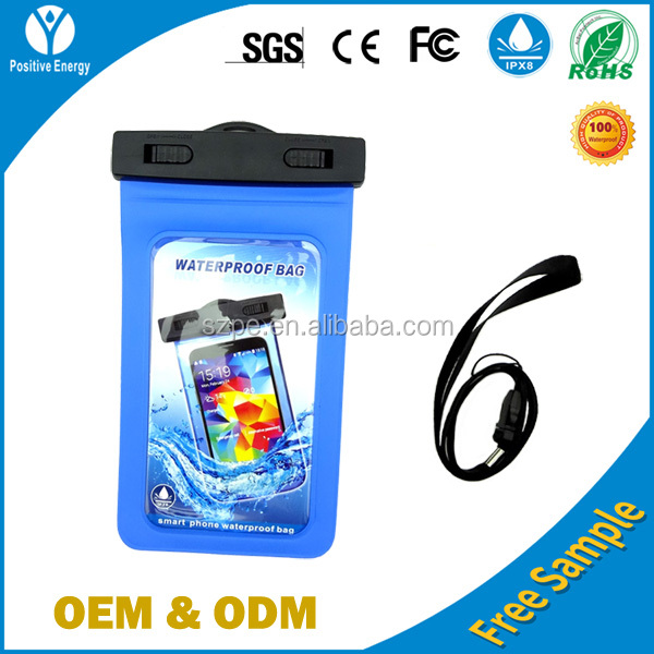 PVC waterproof mobilephone cases