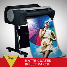 Professional inkjet glossy/matte cast coated/RC inkjet matte photo paper
