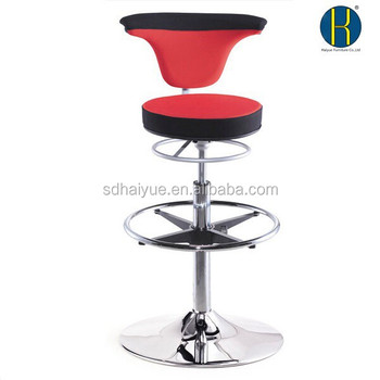 High End Bar Stools Reception Stools With Foot Stools