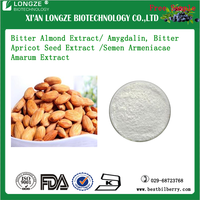 OEM factory Supply Bitter Almond fruit & seed Extract Powder Amygdalin 99% HPLC