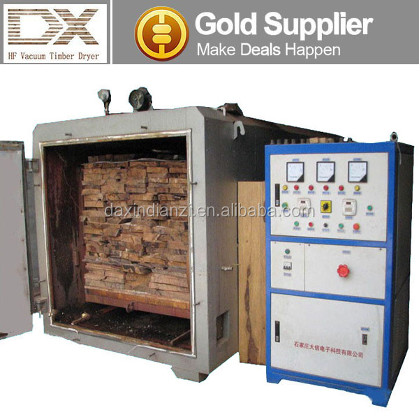 high frequency wood working squared mini wood drying chamber